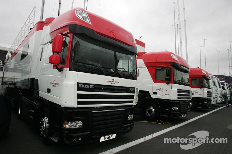 Trailers de Honda F1 Team