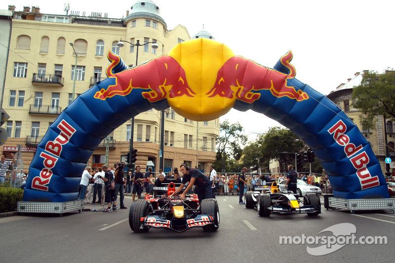 Red Bull Show Run Budapest: los coches de Neel Jani y Robert Doornbos
