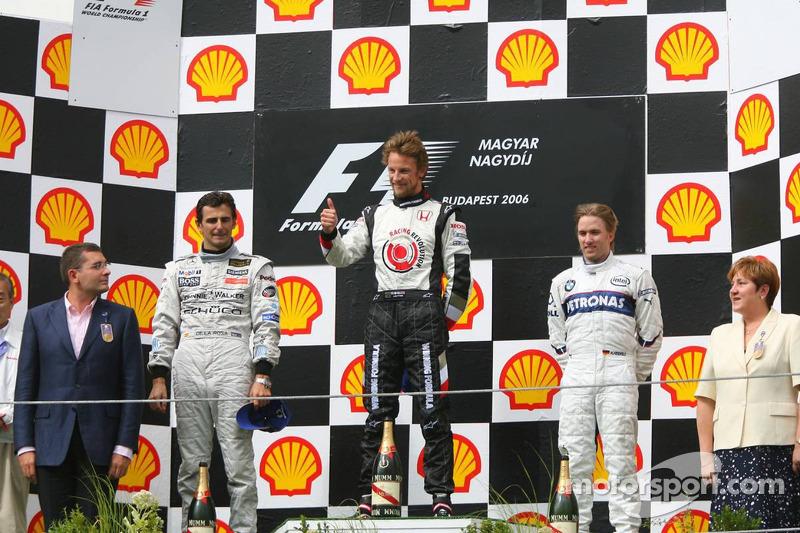 Pedro de la Rosa, 2º en el GP de Hungría 2006