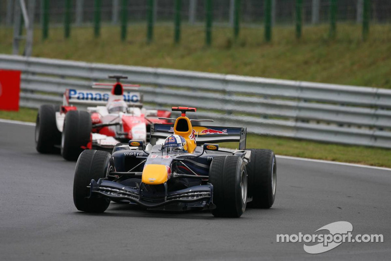 David Coulthard y Jarno Trulli