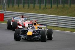 David Coulthard and Jarno Trulli