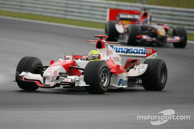 Ralf Schumacher y Scott Speed