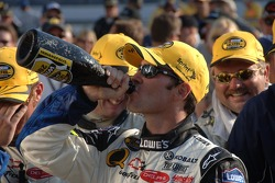 Champagne for Jimmie Johnson
