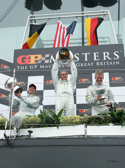 Eric van de Poele, Eddie Cheever and Christian Danner