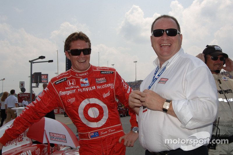 Scott Dixon et Chip Ganassi