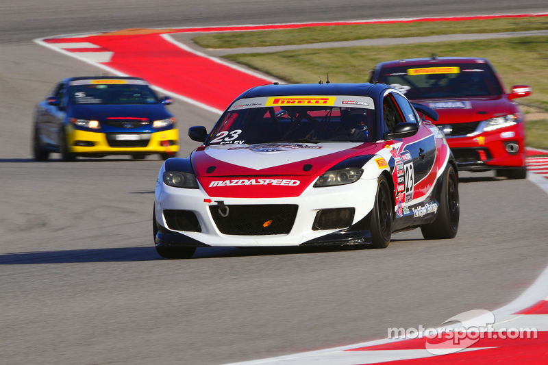 #23 Tech Sport Racing Mazda RX8: Robby Foley