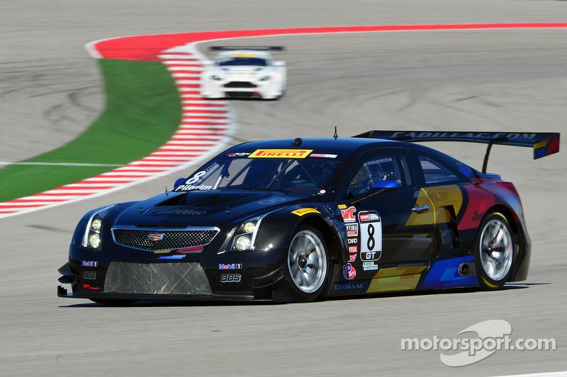 #8 Cadillac Racing Cadillac ATS-VR: Andy Pilgrim