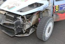Daniel Sordo和Marc Marti, 现代 i20 WRC, 现代 Motorsport damaged