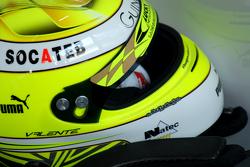 Hugo Valente的头盔,Campos雪佛兰车队RML 科鲁兹 TC1
