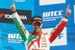 3. Tiago Monteiro, Honda Racing Team JAS, Honda Civic WTCC