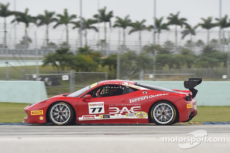 #77 Ferrari Quebec, Ferrari 458TP: Emmanuel Anassis