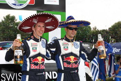 Победители - Себастьен Ожье и Жюльен Инграссиа, Volkswagen Polo WRC, Volkswagen Motorsport