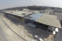 Obras Autódromo Hermanos Rodríguez