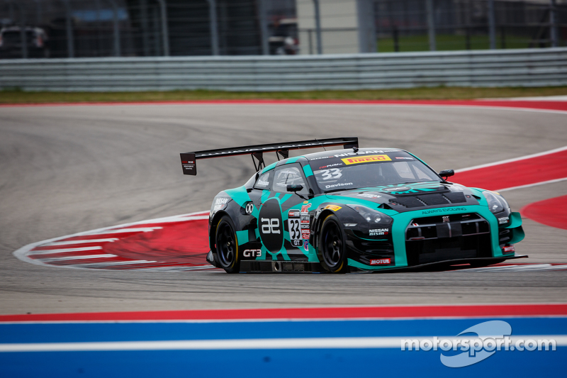 #33 Always Evolving Racing Nissan GT Academy Nissan GT-R-GT 3: James Davison