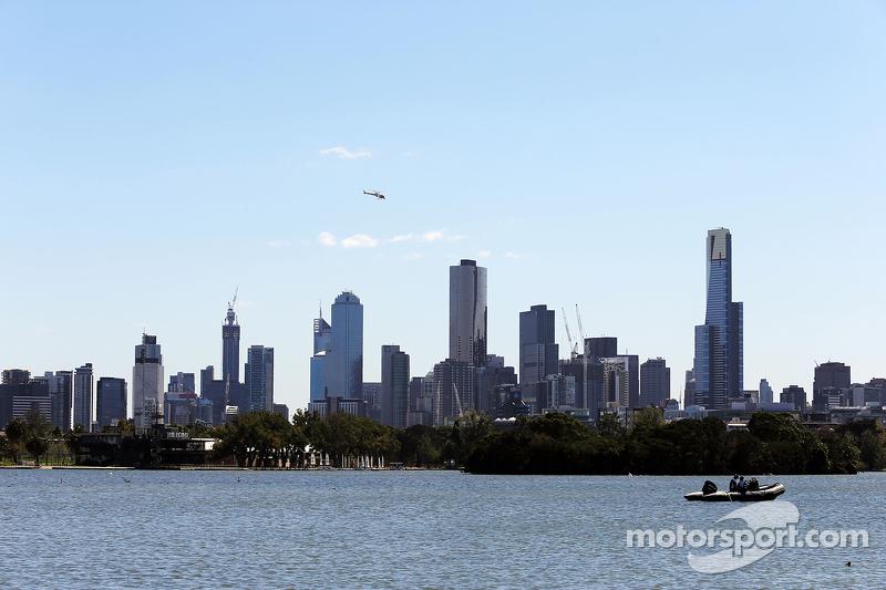 Malerische Skyline von Melbourne