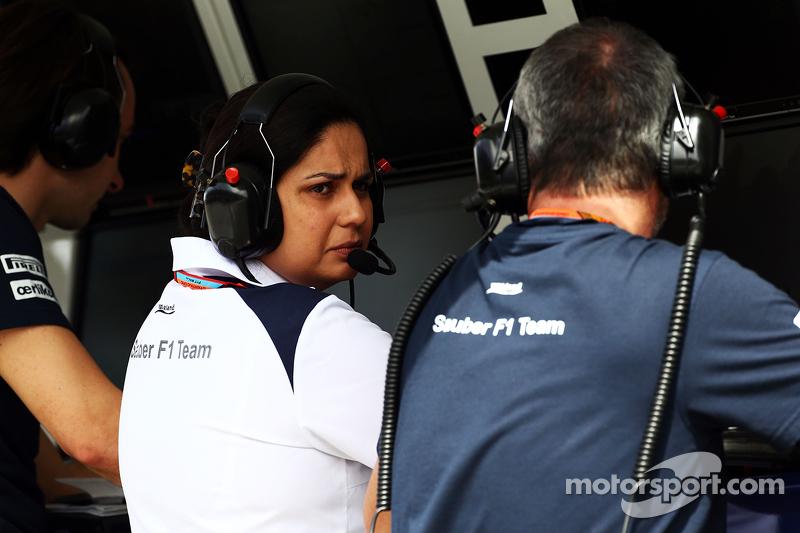 Моніша Калтенборн, Керівник команди Sauber на командному містку