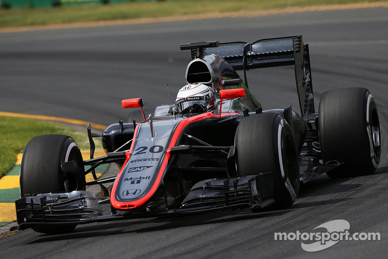 Kevin Magnussen, McLaren MP4-30 at Australian GP