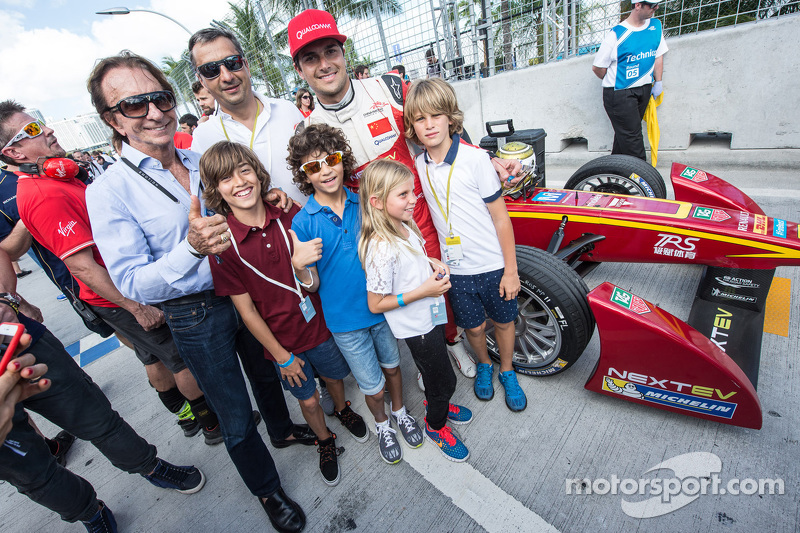 Nelson Piquet Jr., China Racing, con Emerson Fittipaldi