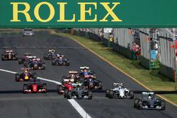 Старт, Льюис Хэмилтон, Mercedes AMG F1 Team