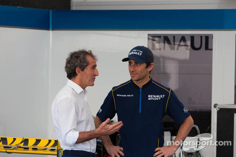 Ніколас Прост, e.dams-Renault з father Ален Прост