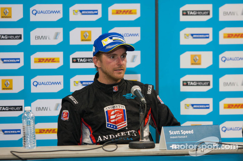 Pressekonferenz nach dem Rennen: 2. Scott Speed