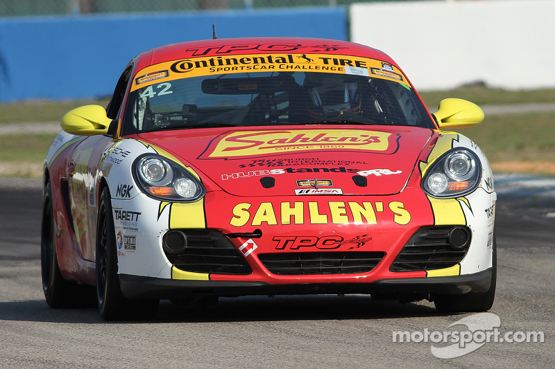 #42 Team Sahlen Porsche Cayman: Will Nonnamaker, Jeff Segal