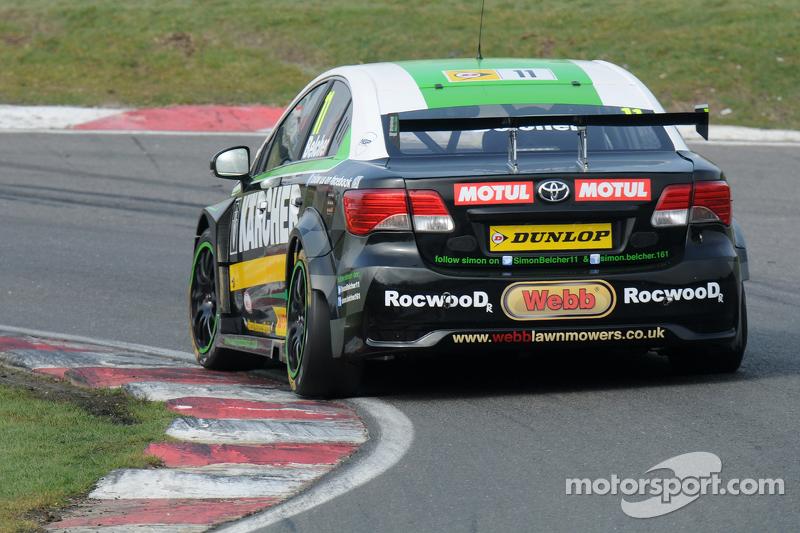 Simon Belcher, hand y Motorsport