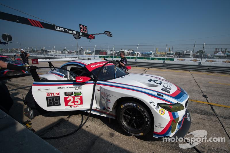 #25 BMW Team RLL BMW Z4 GTE: Bill Auberlen, Dirk Werner, Augusto Farfus