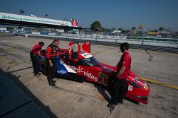 #0 DeltaWing Racing Cars, DWC13: Katherine Legge, Memo Rojas, Andy Meyrick