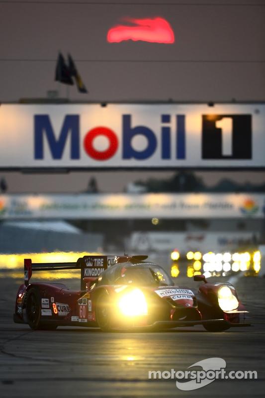 #60 Michael Shank Racing mit Curb/Agajanian, Ligier JS P2 Honda: John Pew, Oswaldo Negri, Justin Wil