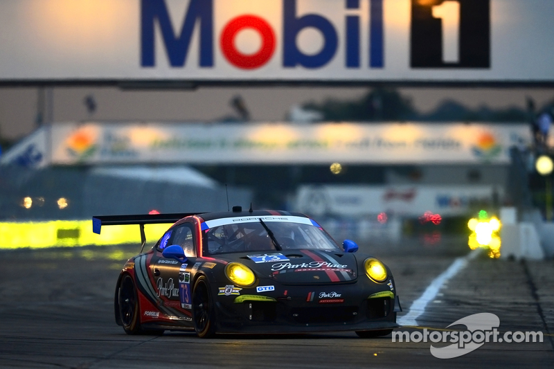 #73 Park Place Motorsports,保时捷911,美洲GT: Patrick Lindsey, Spencer Pumpelly, Jim Norman