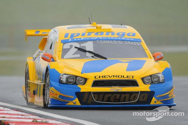 #21 Ipiranga-RCM, Chevrolet: Thiago Camilo, Lucas di Grassi