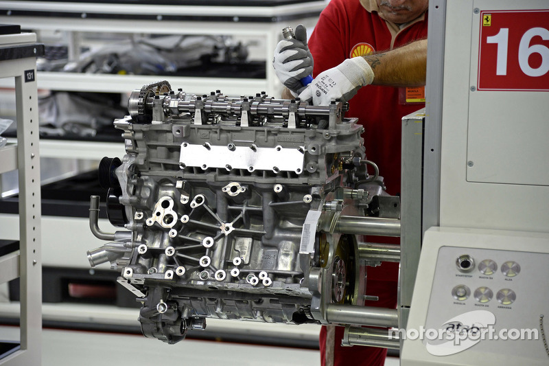 Ferrari factory detail