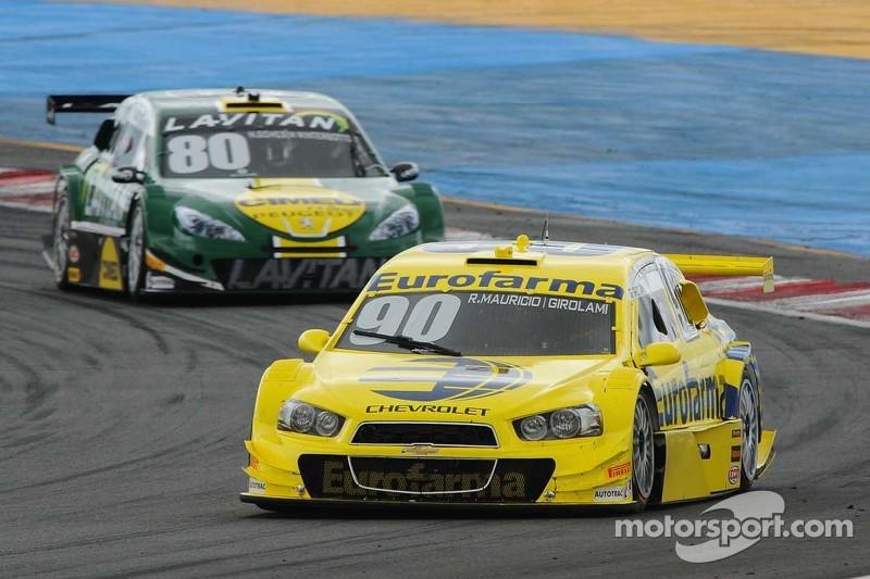 #90 Eurofarma RC, Chevrolet: Ricardo Maurício, Nestor Girolami