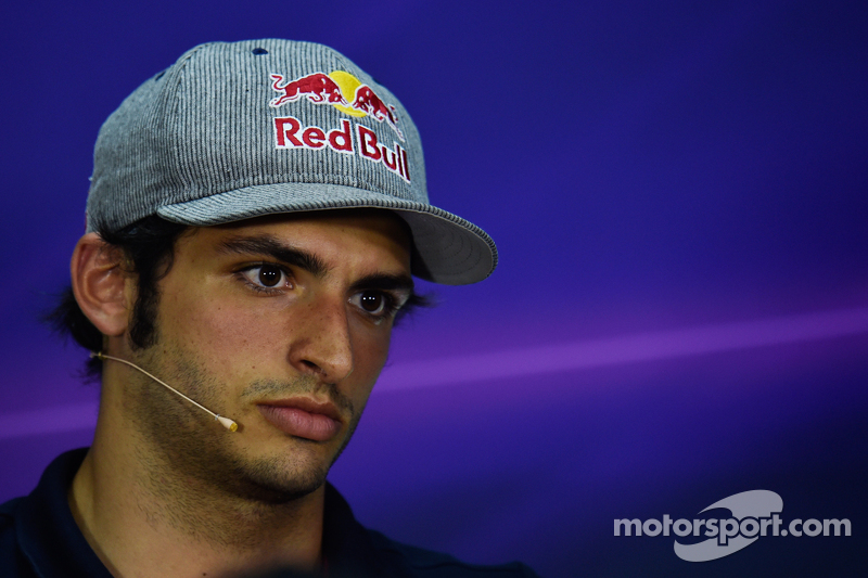 Carlos Sainz Jr., Scuderia Toro Rosso dalam Konferensi Pers FIA