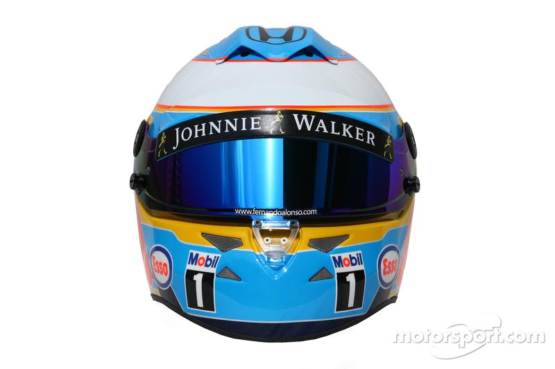 Шолом - Фернандо Алонсо , McLaren