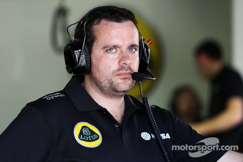 Julien Simon-Chautemps, Lotus F1 Team, Renningenieur