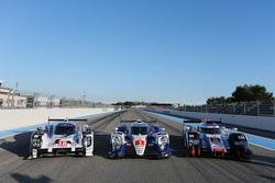 Audi, Porsche и Toyota