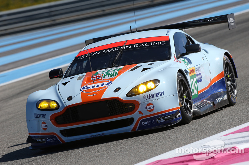 #95 Aston Martin Racing Vantage V8: Marco Sorensen
