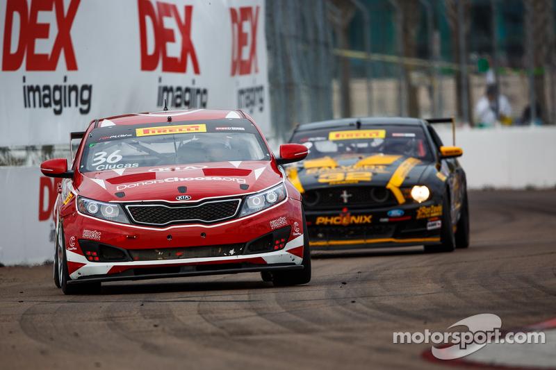 #36 Kinetic Motorsports/Kia Racing Kia Optima: Ben Clucas