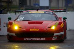 #64 Scuderia Corsa, Ferrari 458 Italia: Duncan End
