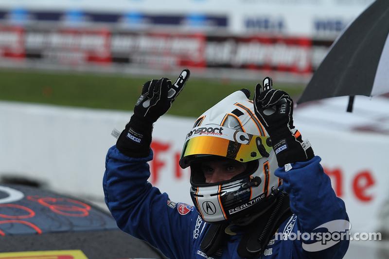 Ganador de la pole Ryan Eversley, RealTime Racing Acura TLX-GT
