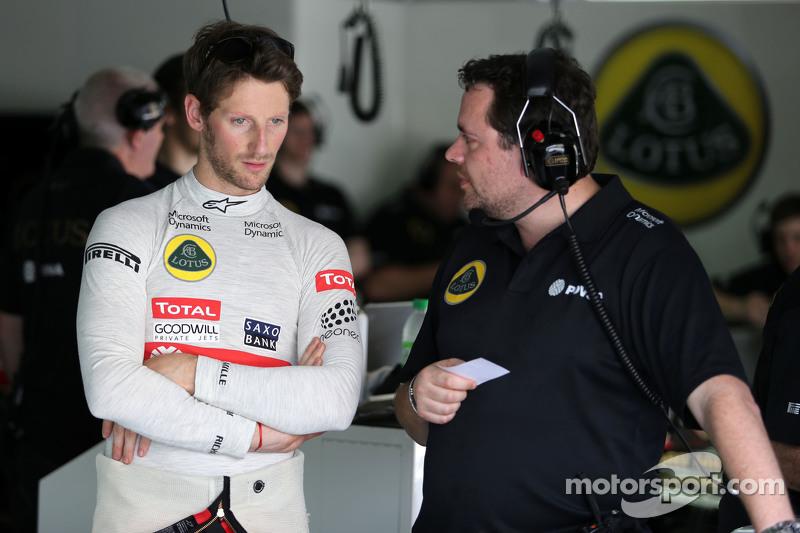 جوليان سيمون شوتون، مهندس سباق فريق لوتس اف1