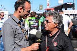 Motorsport TV, Guy Cosmo mit Mario Andretti