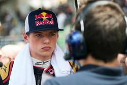 Max Verstappen, Scuderia Toro Rosso, op de grid