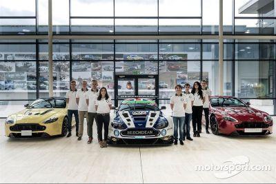 Aston Martin Evolution Academy line up announcement
