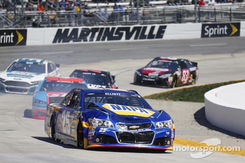 Masalah untuk Chase Elliott, Hendrick Motorsports Chevrolet