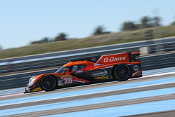 #28 G-Drive Racing Ligier JS P2 Nissan: Gustavo Yacaman, Pipo Derani, Ricardo Gonzalez