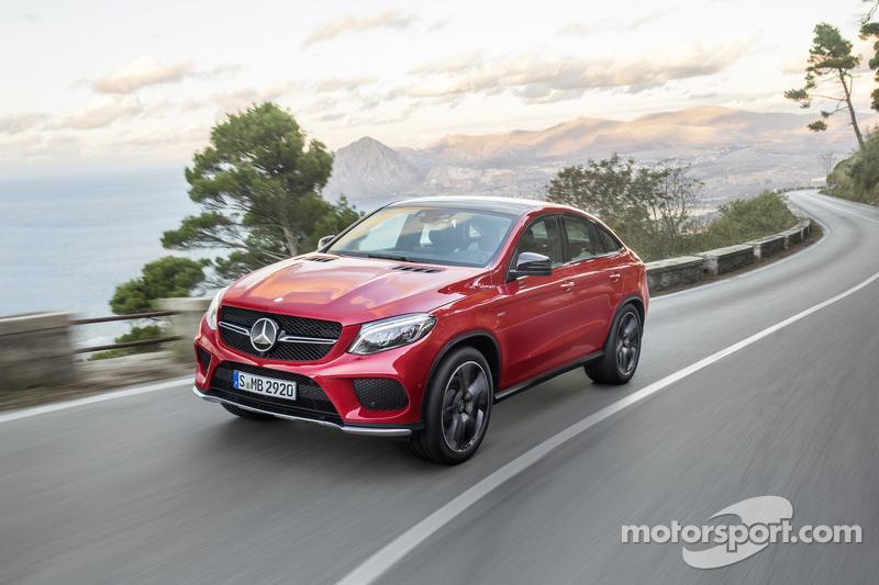 The Mercedes GLE AMG Coupé