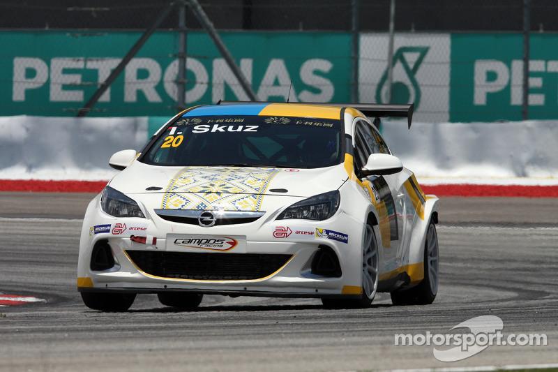 Igor Skuz, Opel Astra OPC, Campos Racing